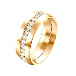 Yparah Orion Platine ring - Size 56 - 65