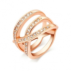 Yparah Divine ring - Swarovski's Crystals. Size 51 - 57